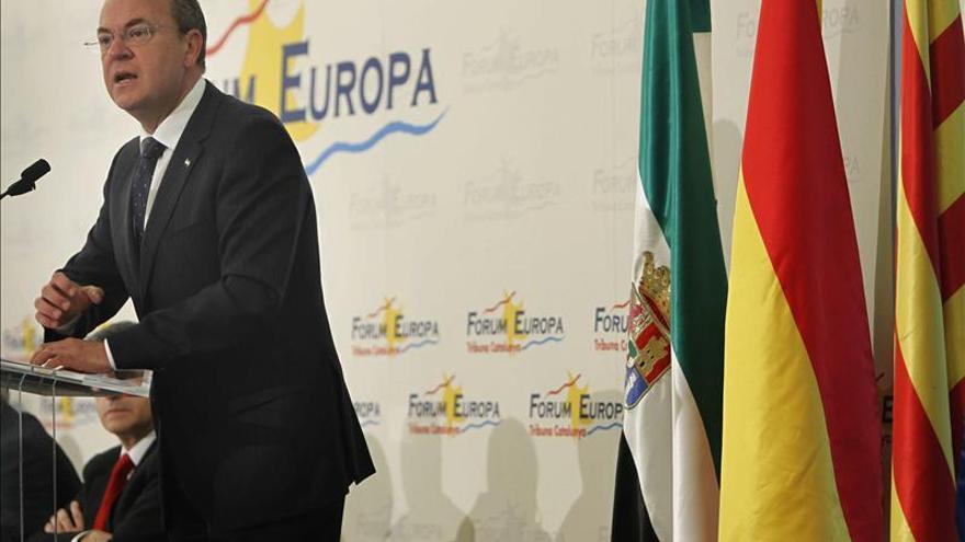 Extremadura no permitirá que se beneficie a Cataluña con objetivo de déficit