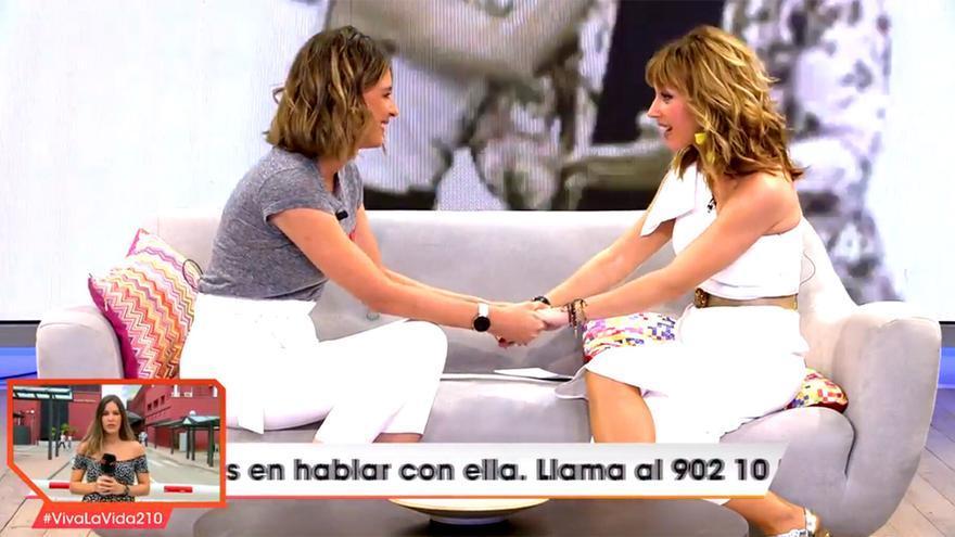 Sandra Barneda y Emma García en 'Viva la vida'
