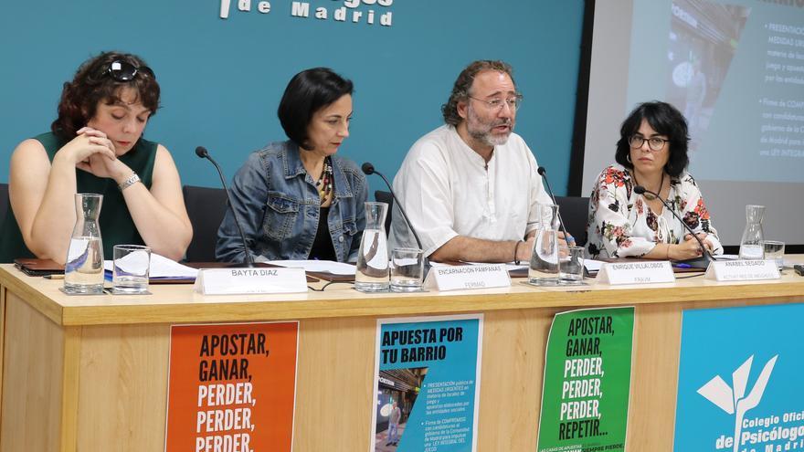 Acto de presentación y firma del acuerdo en el Colegio Oficial de Psicólogos de Madrid