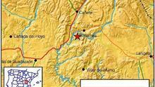 Nuevo terremoto en la provincia de Cuenca, el cuarto en pocos días en Castilla-La Mancha