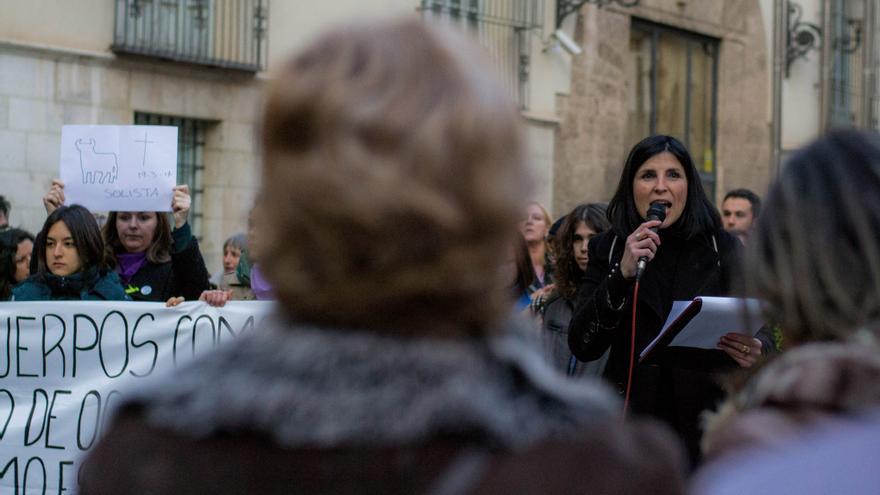 Raquel Aguilar, coordinadora del Pacma en Valencia