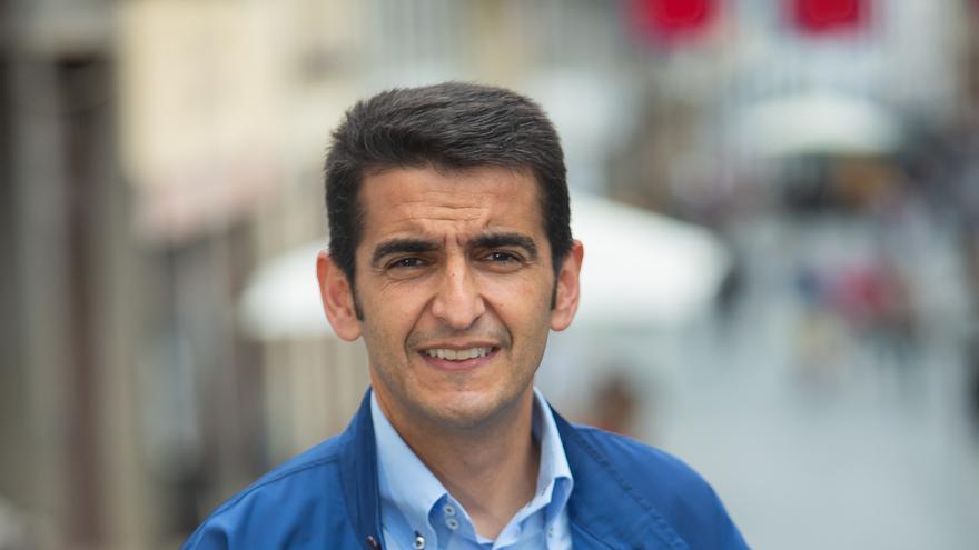 Iván Díaz,  concejal del grupo Popular en el Ayuntamiento de Santa Cruz de La Palma.