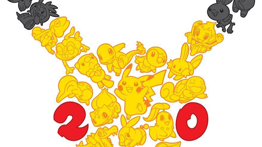 Pokemon 20 aniversario