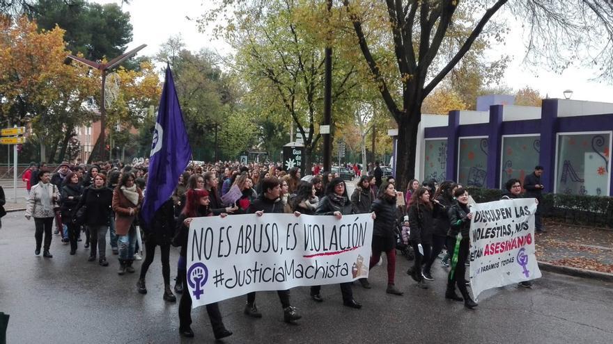 Manifestación del 25N en Guadalajara