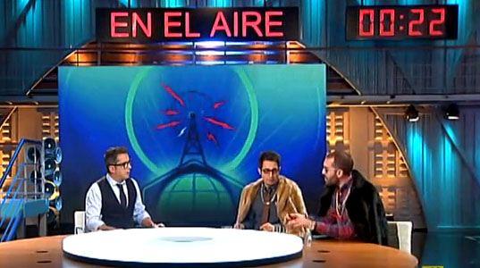 """Un momento del programa """"En el aire"""" de Andreu Buenafuente"""