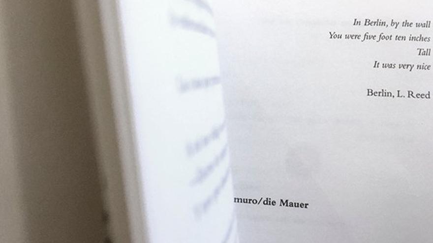 Páginas del libro 'Berlín', de Victoria Guerrero