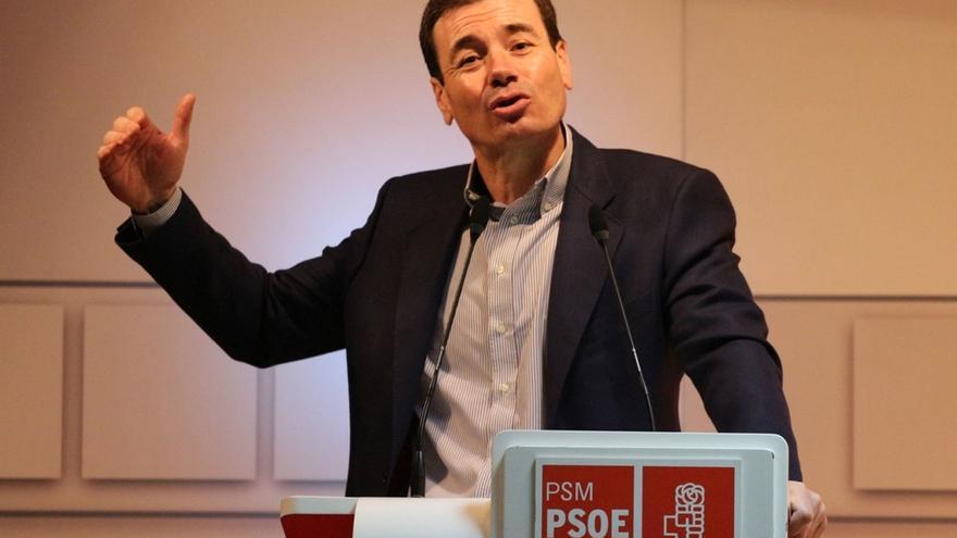 """Tomás Gómez dice que el PSOE vive """"los peores tiempos de esta generación"""" con personas que """"se han corrompido"""""""