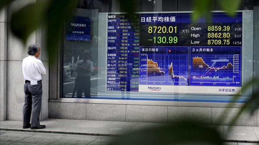 Tokio sube un 1,68 % a media sesión tras el desplome de la víspera