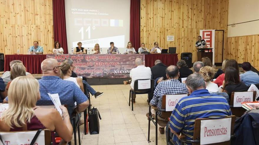 Momento del congreso regional que se inició este viernes en Tenerife