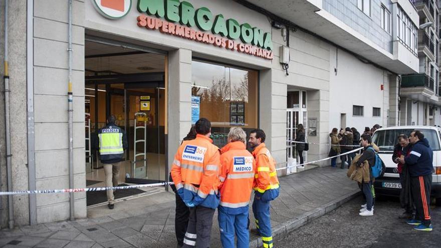 Prisión provisional sin fianza para el acusado del tiroteo en un supermercado de Ourense