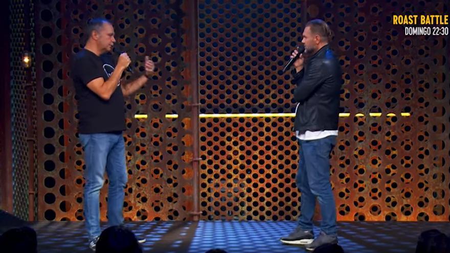 """Nacho Vidal y Pepe Colubí, cara a cara en el 'Roast': """"Nadie cree que eres capaz de contar hasta 5.000"""""""