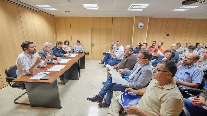 Reunión reciente del CIATF con representantes de los 31 municipios de la isla
