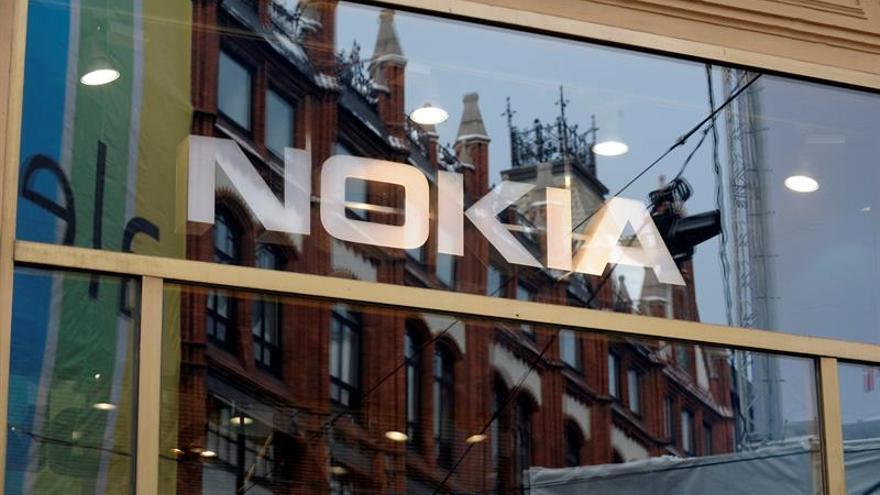Nokia pierde 513 millones de euros netos hasta marzo por la compra de Alcatel