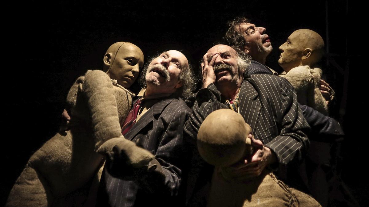 'La Batalla de los Ausentes de la Cía' de La Zaranda se podrá ver el sábado 25 de septiembre a las 21:00h en el Teatro Villa de Molina