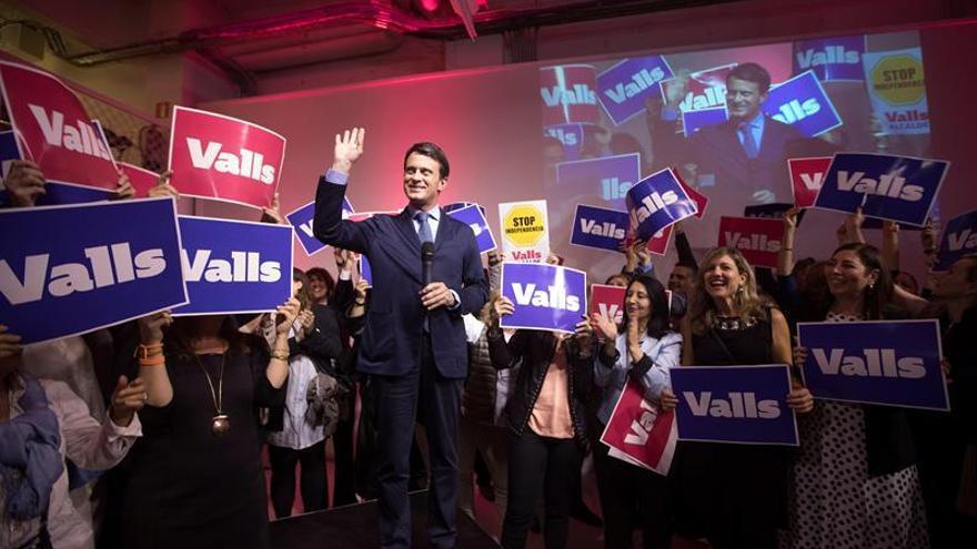 """Valls: """"Quiero ser el alcalde de todos: no hay ni buenos ni malos catalanes"""""""