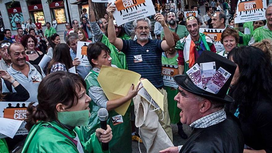 Manifestación Pobreza Cero / Foto: CONGD-CLM