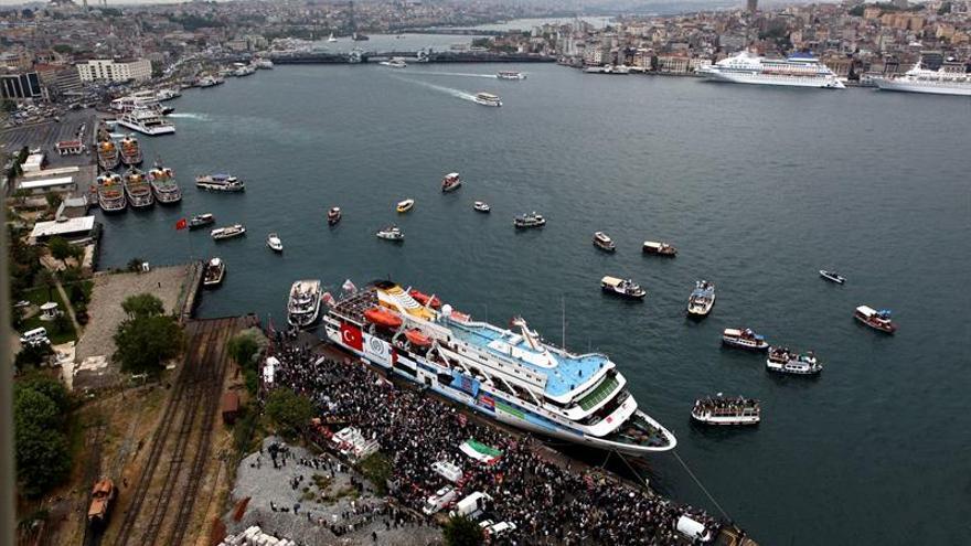 Llega de Turquía el primer buque con 11.000 toneladas de ayuda para Gaza