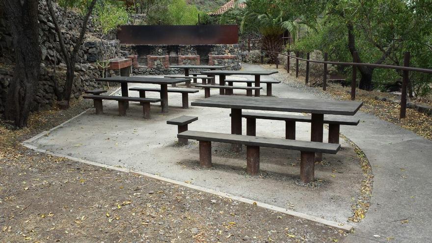 Parque recreativo de Los Pedregales, en Tenerife.