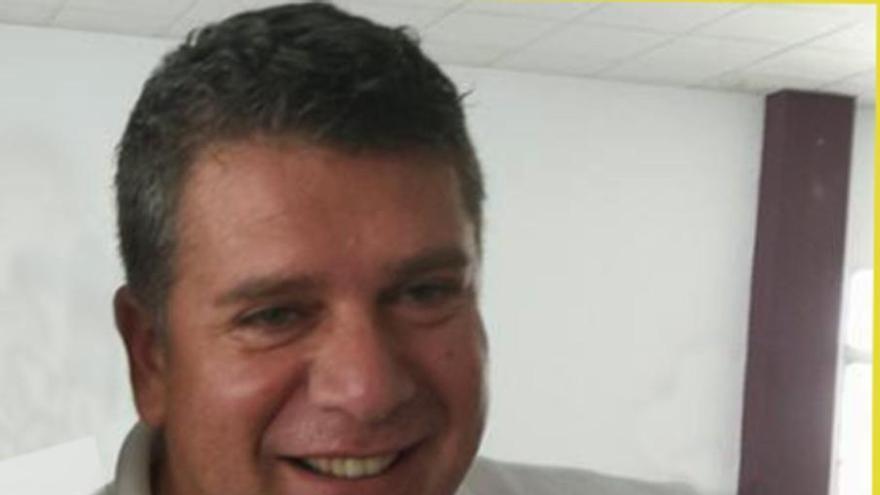 Andrés Carmona, primer teniente de alcalde de El Paso y portavoz del PSOE.