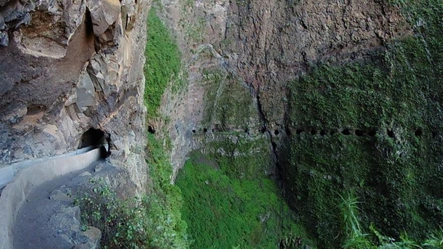 Sendero de las Ventanas de Güímar, en Tenerife