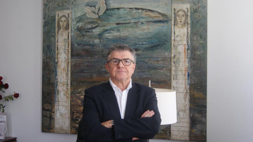 El director del Palau de la Música, Vicent Ros