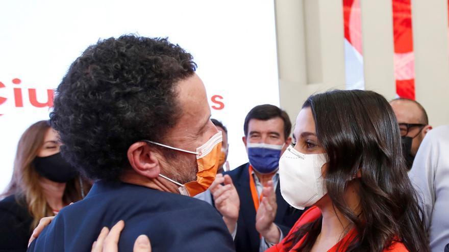 Arrimadas, tras el recuento: Seguiremos trabajando por una España sin bandos