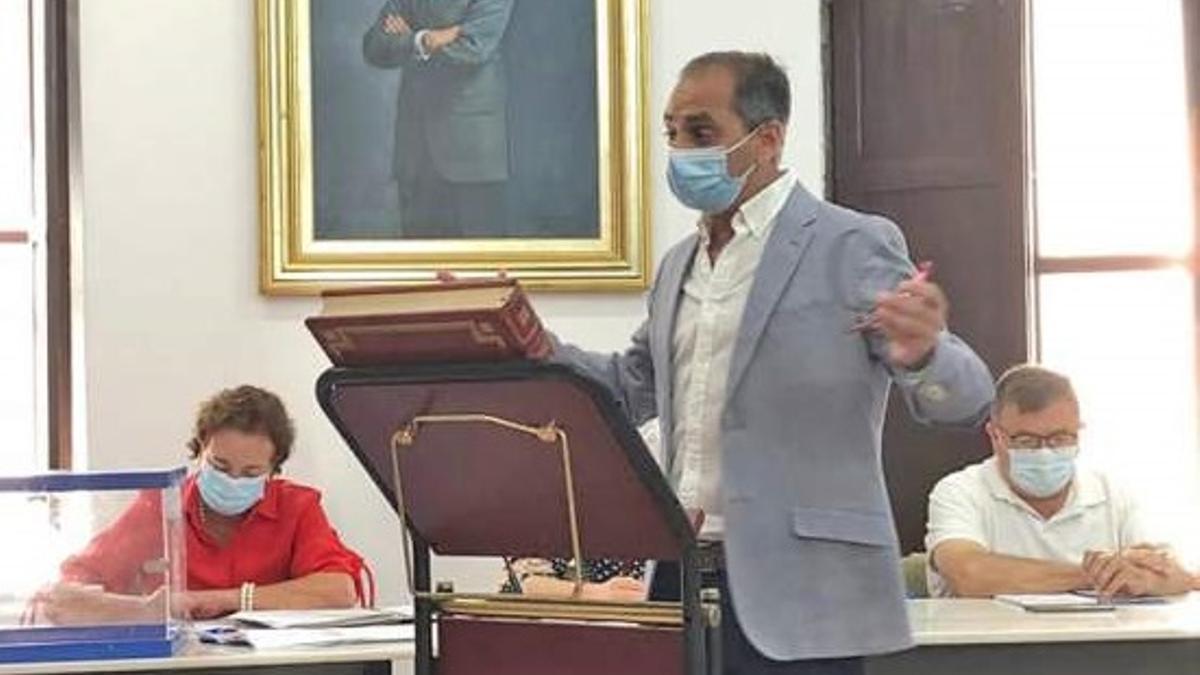Román Garrigós, nuevo alcalde de Vilallonga por el PP.