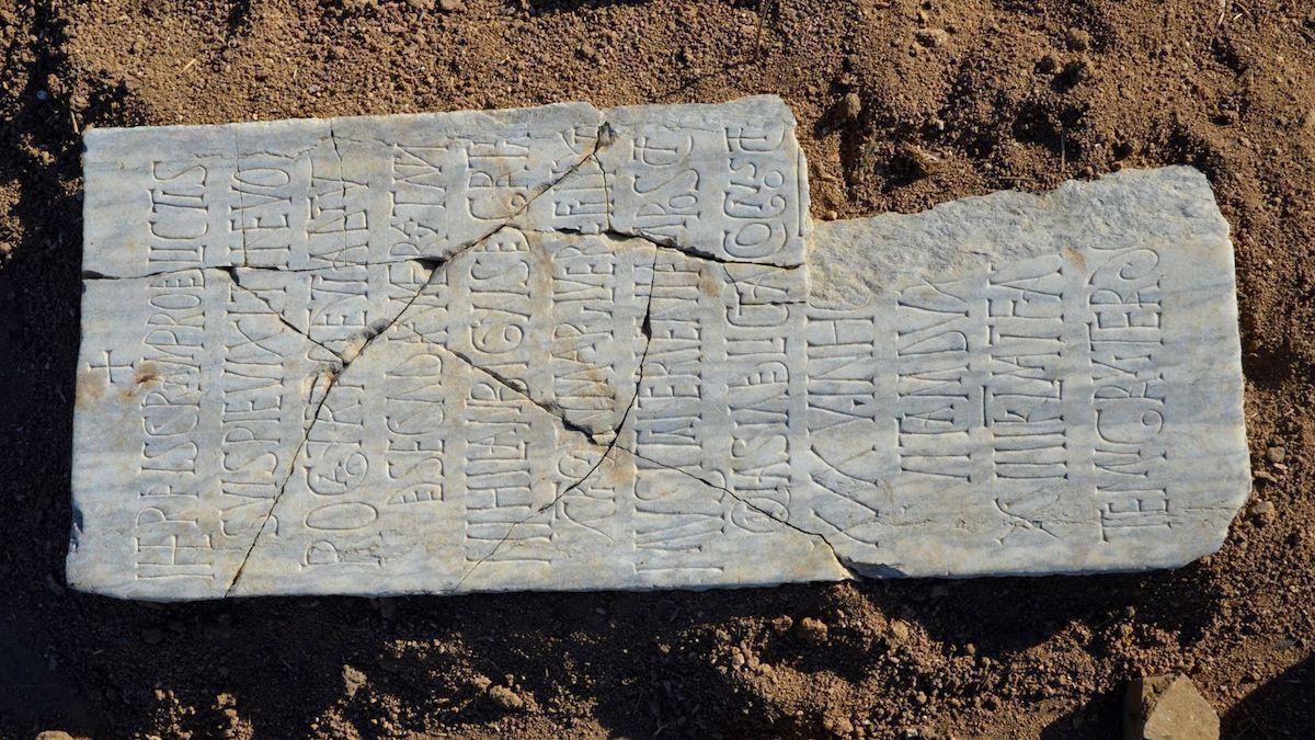 Inscripción de Hieronimus hallada en La Losilla.