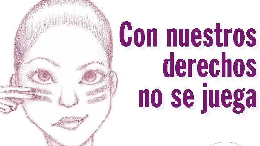 Ilustración del día de la mujer en Castilla-La Mancha por Alicia Sánchez
