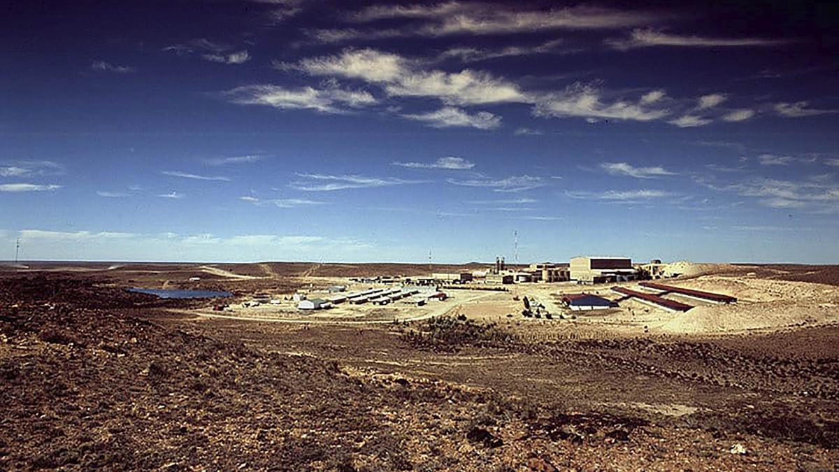 Yacimiento minero en Santa Cruz