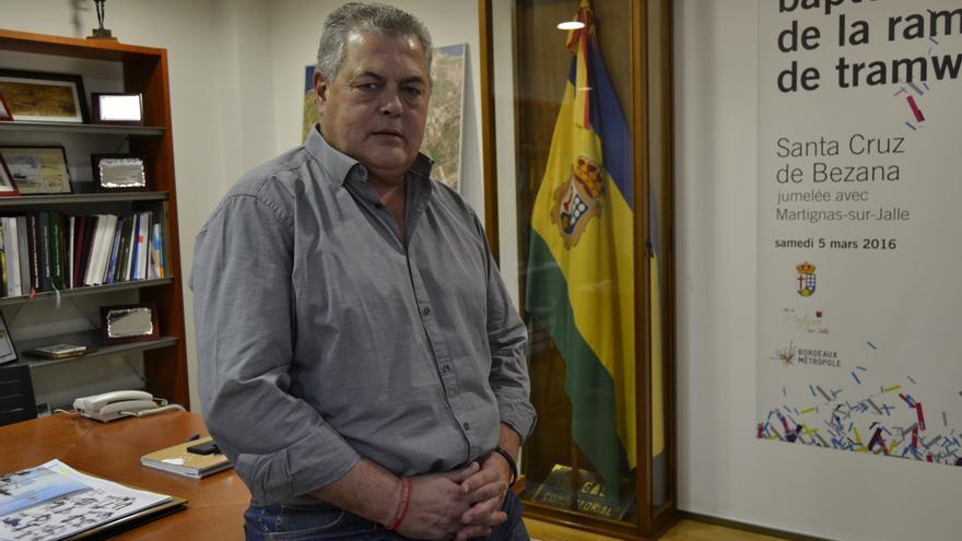 Joaquín Gómez, alcalde de Santa Cruz de Bezana.