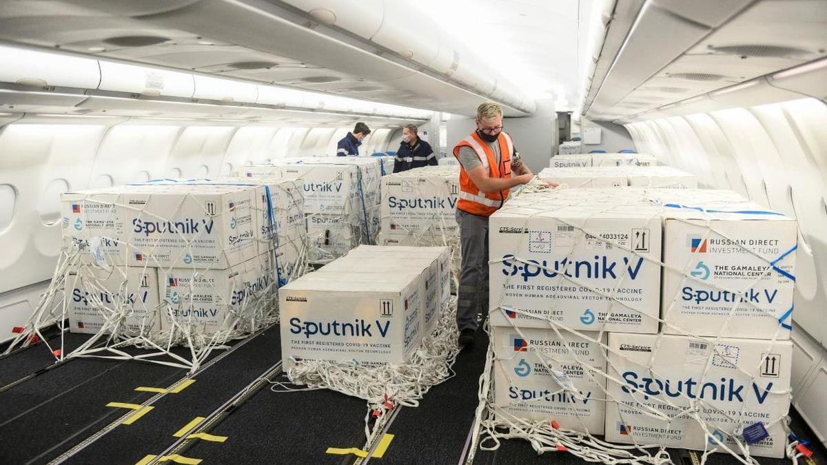 Se espera un nuevo embarque de Sputnik V