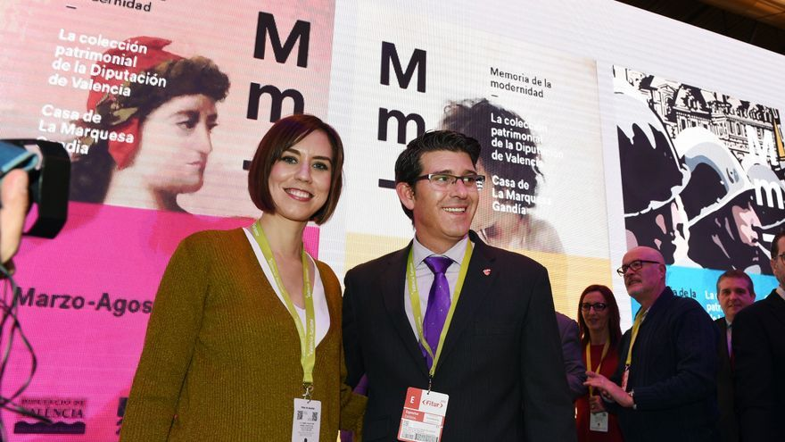 Diana Morant i Jorge Rodríguez, en FITUR