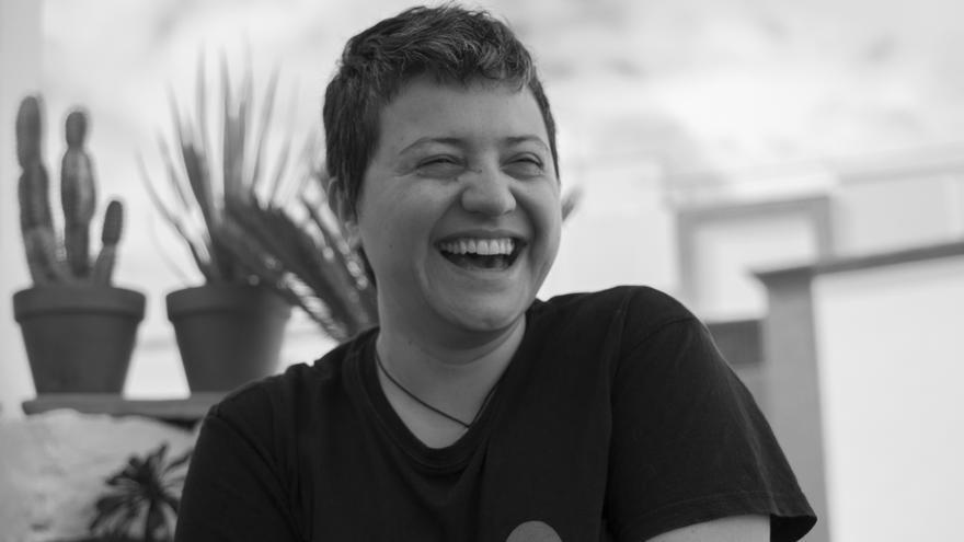 Magdalena Piñeyro sonriendo.