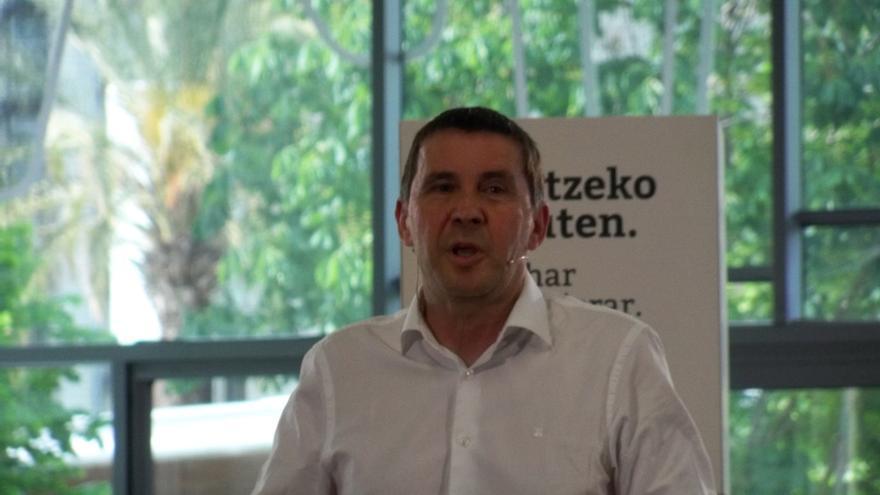 """Otegi (Sortu) dice que puede haber un """"espacio para el acuerdo"""" con Podemos ya que ambos buscan """"democratizar"""" el Estado"""