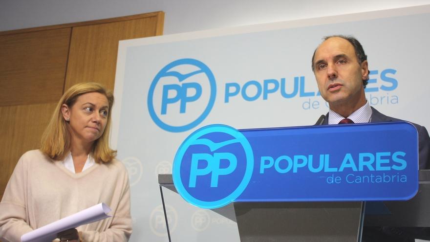 """El PP lamenta que Gobierno de Cantabria """"prefiera subir los impuestos"""""""