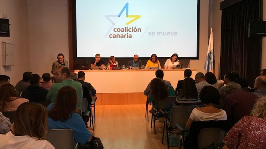 Acto de presentación del nuevo anagrama de CC.