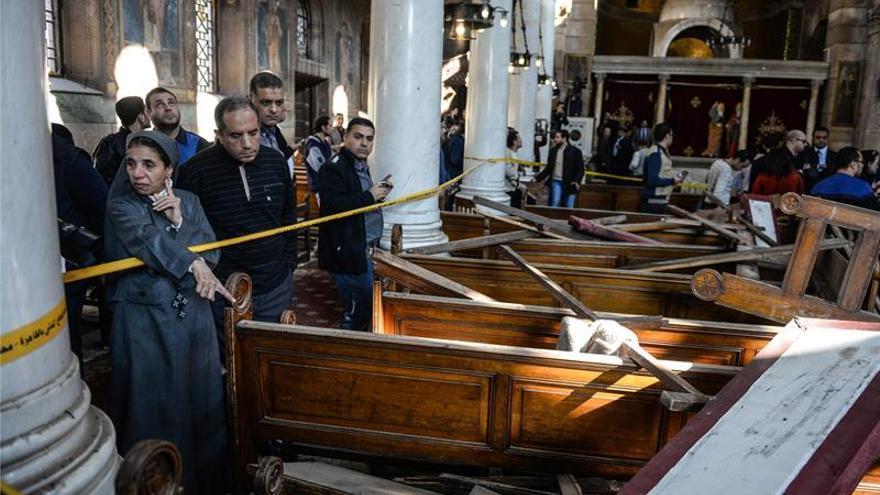 El grupo Hasm niega cualquier relación con el atentado contra la iglesia de El Cairo