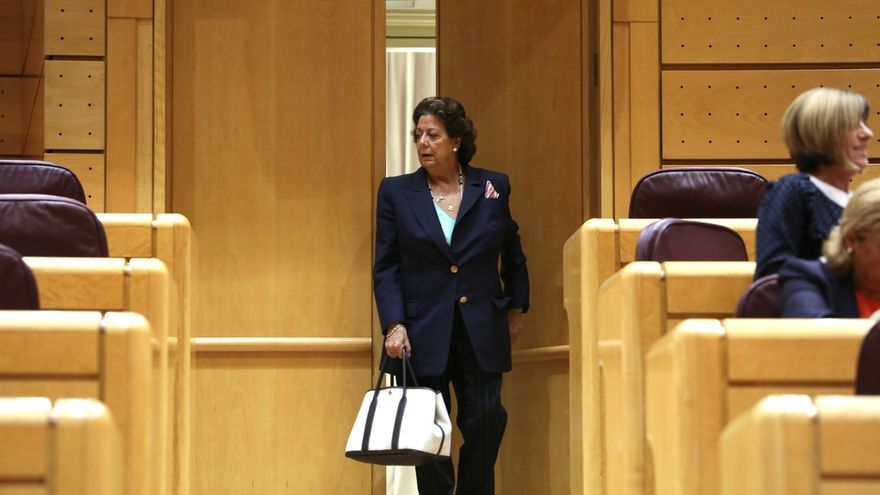 El Senado debate el miércoles un propuesta de Compromís a raíz del caso Barberá: crear la figura del senador no adscrito