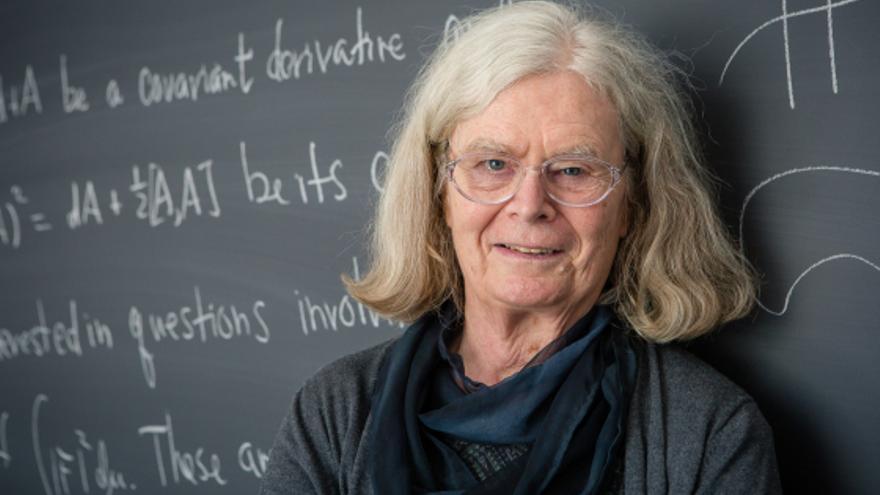 Andrea Kane en una imagen publicada por el Institute for Advanced Study y difundida por The Norwegian Academy of Science and Letters.