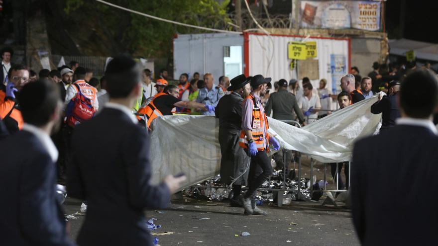 """La UE expresa el """"más sentido pésame"""" por la tragedia en una fiesta judía en Israel"""