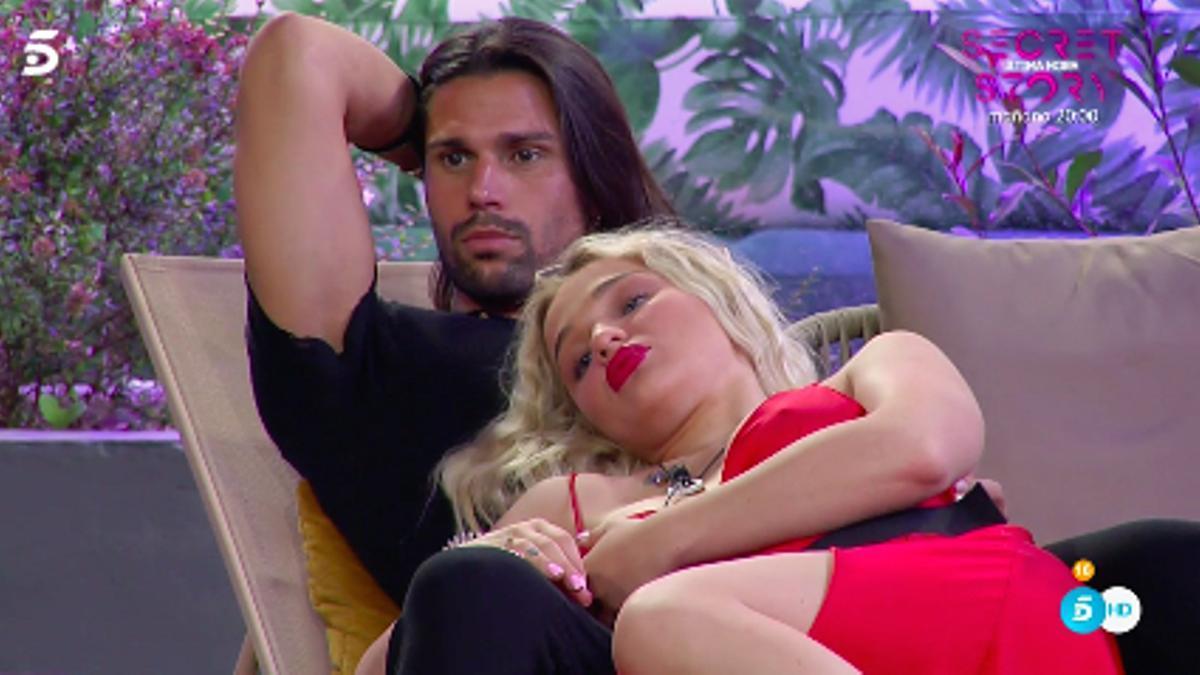 Luca y Emmy, en 'Secret Story'
