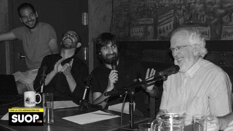Forges, derrochando neuronas con Miguel Anómalo y Carlos Langa, con Alberto del Pozo de testigo