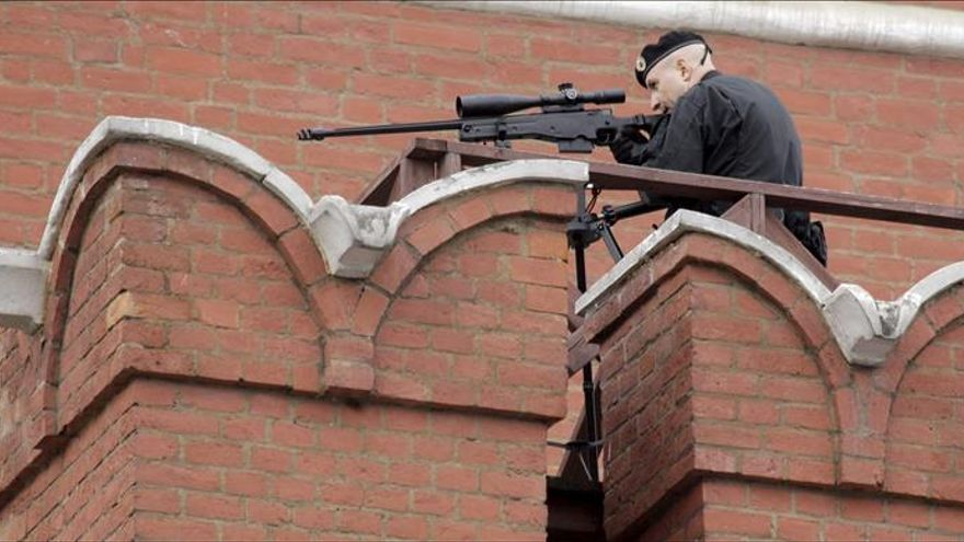 Rusia refuerza la seguridad en lugares públicos y concurridos