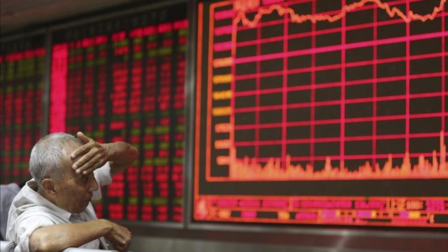 La Bolsa de Shanghái abre con un descenso del 0,60 %