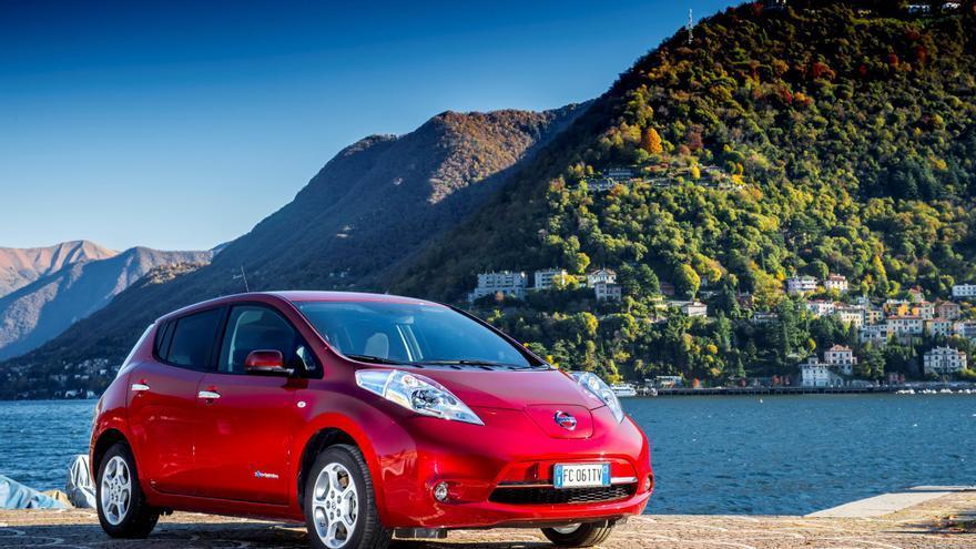 Nissan Leaf, el coche eléctrico más vendido del mundo.