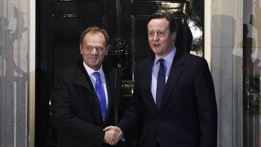 Tusk propone una solución para el Reino Unido que incluye el freno a la inmigración de la UE