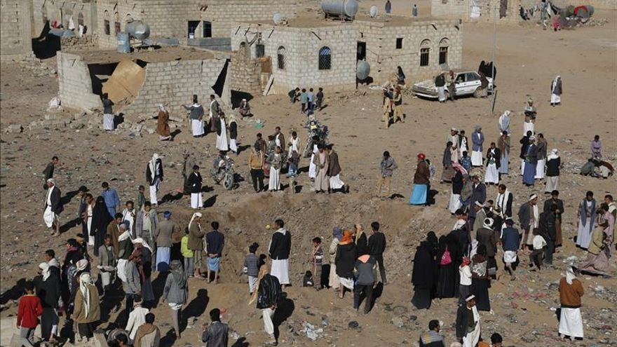 Un avión bareiní de la alianza contra los hutíes se estrella en Arabia Saudí