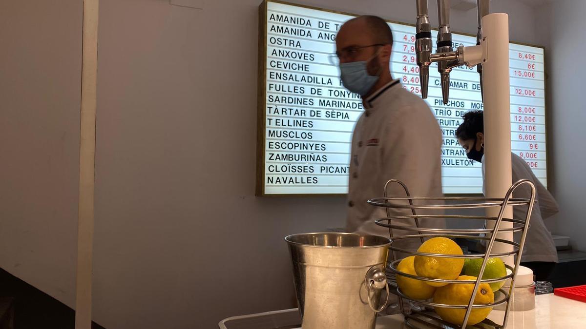 Los bares y restaurantes catalanes llevan cerrados desde el 16 de octubre pasado