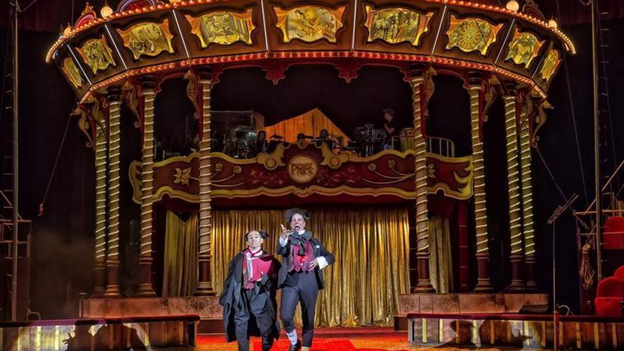 """Homenaje al circo """"bueno de verdad"""" en las Navidades del Price"""